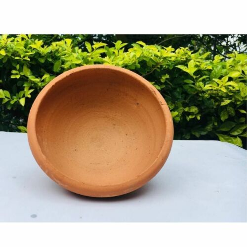Terracotta Earthenware Clay Curry Serving Bowl For Soup Dessert Noodles Rice