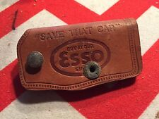 Vintage Esso Gas Service Station Key Holder for Chevy Cadillac Buick Ford Dodge