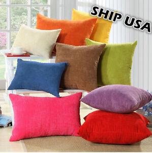 Ship Usa Corn Kernels Corduroy Pillow Cover Cushion Case 4