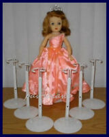 6 Kaiser Doll Stands For Miss Revlon Madame Alexander Cissy Dollikins