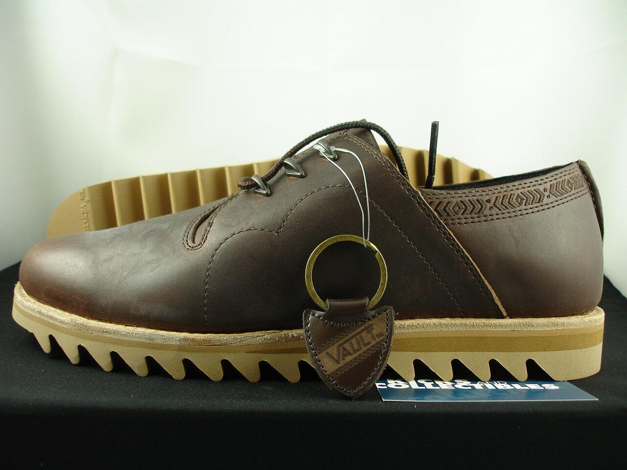 VANS VAULT TAKA HAYASHI SIERRA 13 Vibram Trek Brown Horween Leather VN-0QHF67S