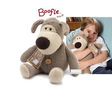 NEW BOOFLE (TM) Fully Microwavable Cuddly Soft Toy Heatable Knitted Character