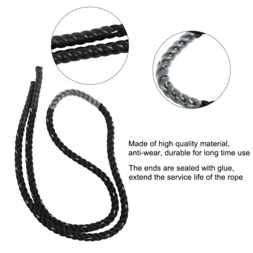 Throw Big Rope Durable Exercise Butt Fitness Rope Office Home for Gym Indoor Use