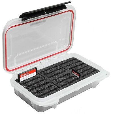 18BR protector de almacenamiento de información tarjeta Compact Flash Impermeable caso de tarjeta de memoria CF elcf