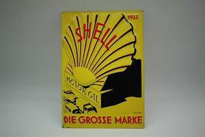 Conchiglia-Latta-Motore-Olio-Lim-Edizione-Motivo-1932-20x30-CM-Aufl-7050-Nr