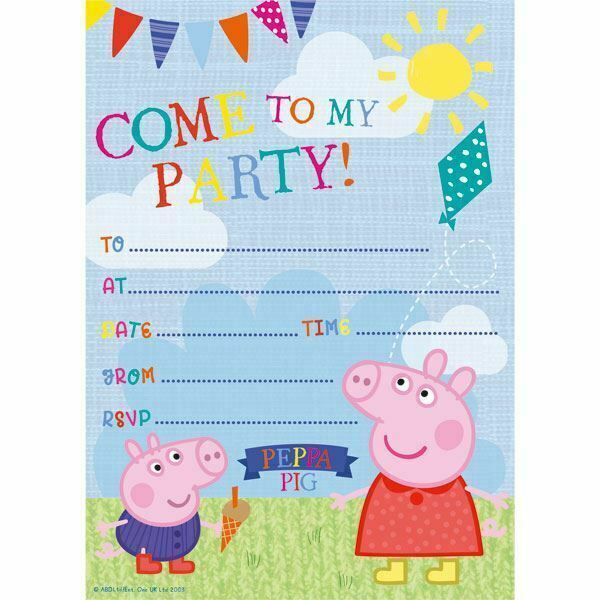 S Boys Birthday Party Invitations