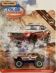 Matchbox-2019-Color-Changers-MBX-Off-Road-039-68-Ford-Mustang-BBFKV98