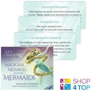 Magickal-Messages-from-The-Mermaid-Inspiration-Cards-Deck-Blue-Angel-New