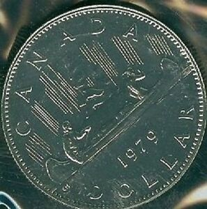 1979-PL Proof-Like $1 Voyogeur One Dollar /'79 Canada//Canadian Coin Un-Circulated
