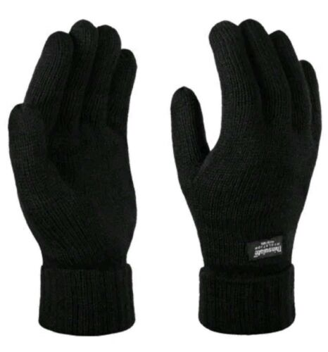 Regatta professional Trg207 Thinsulate Mens Winter Gloves Black