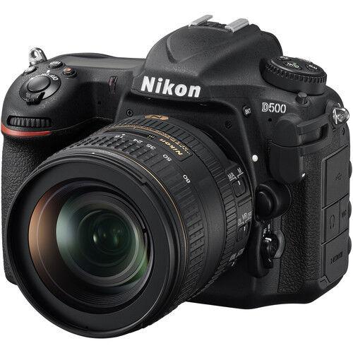 Nikon D500 DSLR Camera Kit w/16-80mm E ED VR Lens