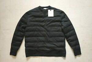 Moncler-Wool-Quilted-Down-Sweater-Black-XXL-Size-6-New-with-Tags-1500