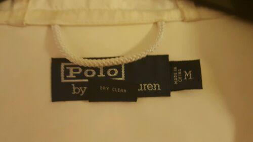 M Polo par Fit Ralph Vintage XL Lauren Coat White Duffle Iw8Rx