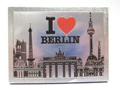 Berlin Laser Magnet 8 Cm Souvenir Germany Brandenburger Tor I Love Bequem Und Einfach Zu Tragen