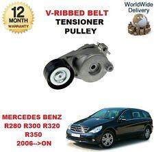 FOR MERCEDES BENZ R280 R300 R320 R350 CDI W251 V RIBBED BELT TENSIONER PULLEY