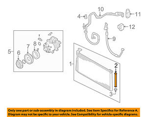 Details about HYUNDAI OEM 06-15 Sonata Air Conditioner-A/C AC Drier on