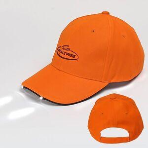Team Realtree Blaze Orange Field Deer LED Lighted Hat / Cap - NEW!