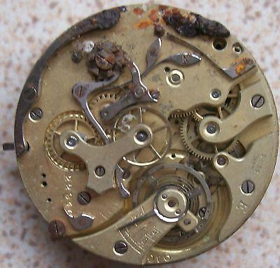 Identification pocket watch movement Watch Movements