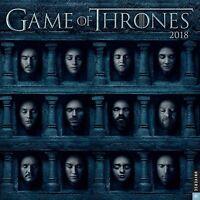 Game Of Thrones - 2018 Wall Calendar - Brand - Tv Show 333292
