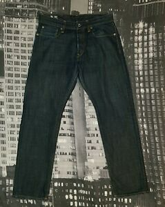 G-Star RAW Herren Jeans W32 L29 Modell 3301 TAPERED, Authentisch