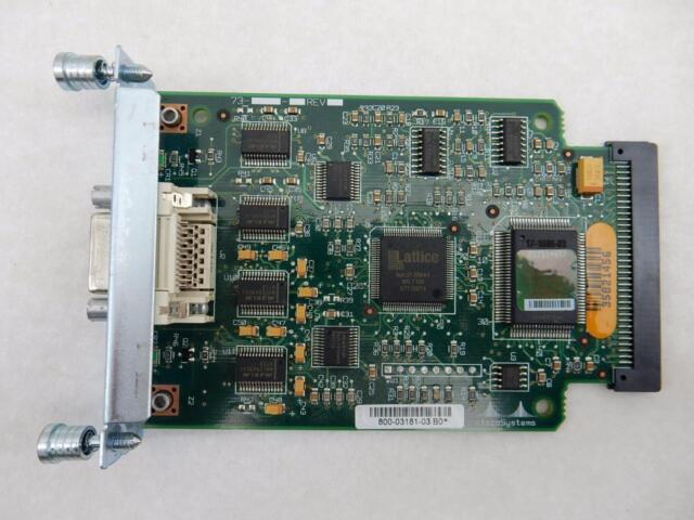 Network Module  2-Port Serial WAN Interface Card Cisco NM-2FE2W
