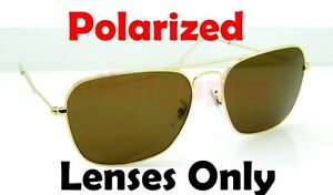 a91c9ba2f1 POLARIZED BROWN + Gradient Ray Ban RB 3136 Caravan Replacement ...