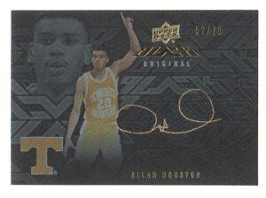 2013-14-UD-Black-Signatures-S-AH-Allan-Houston-Auto-52-75-Tennessee