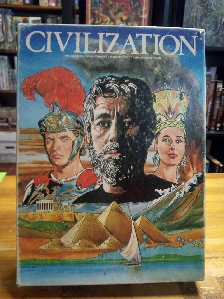 Avalon Hill AH Civilization The Game of Heroic Age UNPUNCHED COUNTERS