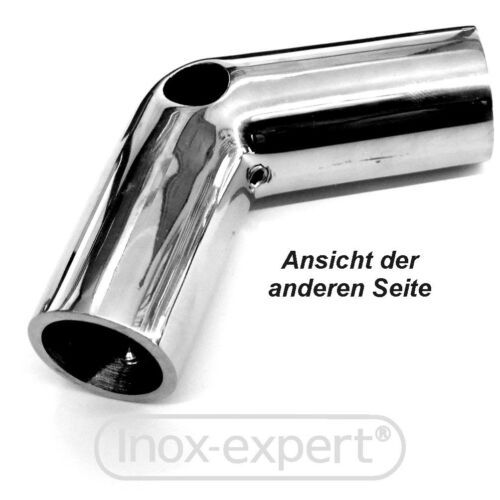 VA Rohrbogen Rohr-Winkel Edelstahl Rohrverbinder A4 Rostfrei Niro Edelstahlrohr