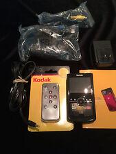 Kodak Zi8 Pocket Camcorder ---Mini Recording Studio, With Remote Control!