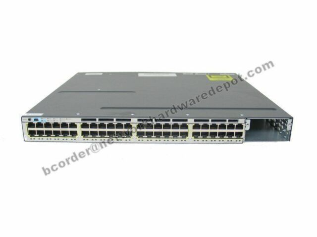Cisco WS-C3750X-48PF-L 48-PORT GIG POE + SWITCH WS-C3750X-48P-L - Garantie 1 an