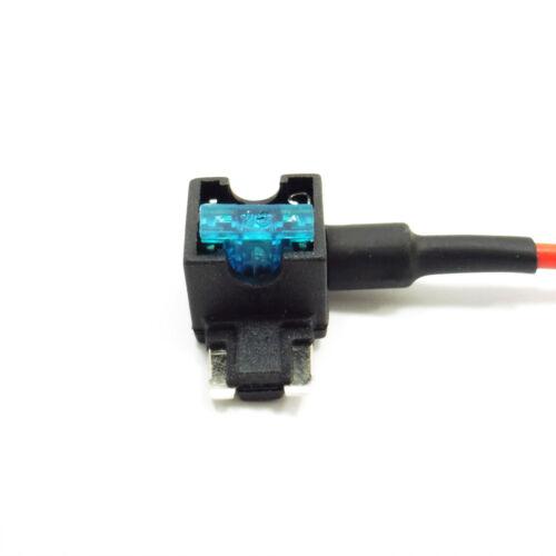 Fuse Tap ajouter un circuit voiture 12 V BATEAU à MOTEUR Van Amp Piggy Back fusible lame support