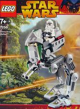 LEGO STAR WARS 'CLONE SCOUT WALKER' #7250 RECON TROOPER 100% COMPLETE GUARANTEE