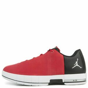 7a2157b86d88 NIB NIKE Mens 10 JORDAN TE 2 LOW AO1696 600 RED BLACK BASKETBALL ...
