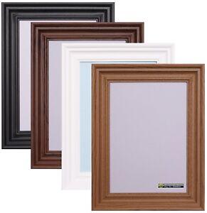 Photo-Picture-Frame-Large-Maxi-Poster-Size-Frames-Black-Oak-White-A1-A2-A3-A4