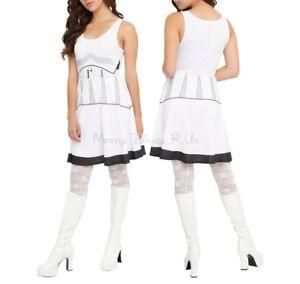 New-Star-Wars-Her-Universe-Stormtrooper-Cosplay-Costume-Dress-Juniors-M
