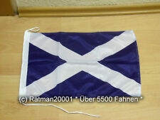 Fahnen Flagge Schottland Bootsfahne Tischwimpel Biker - 30 x 45 cm