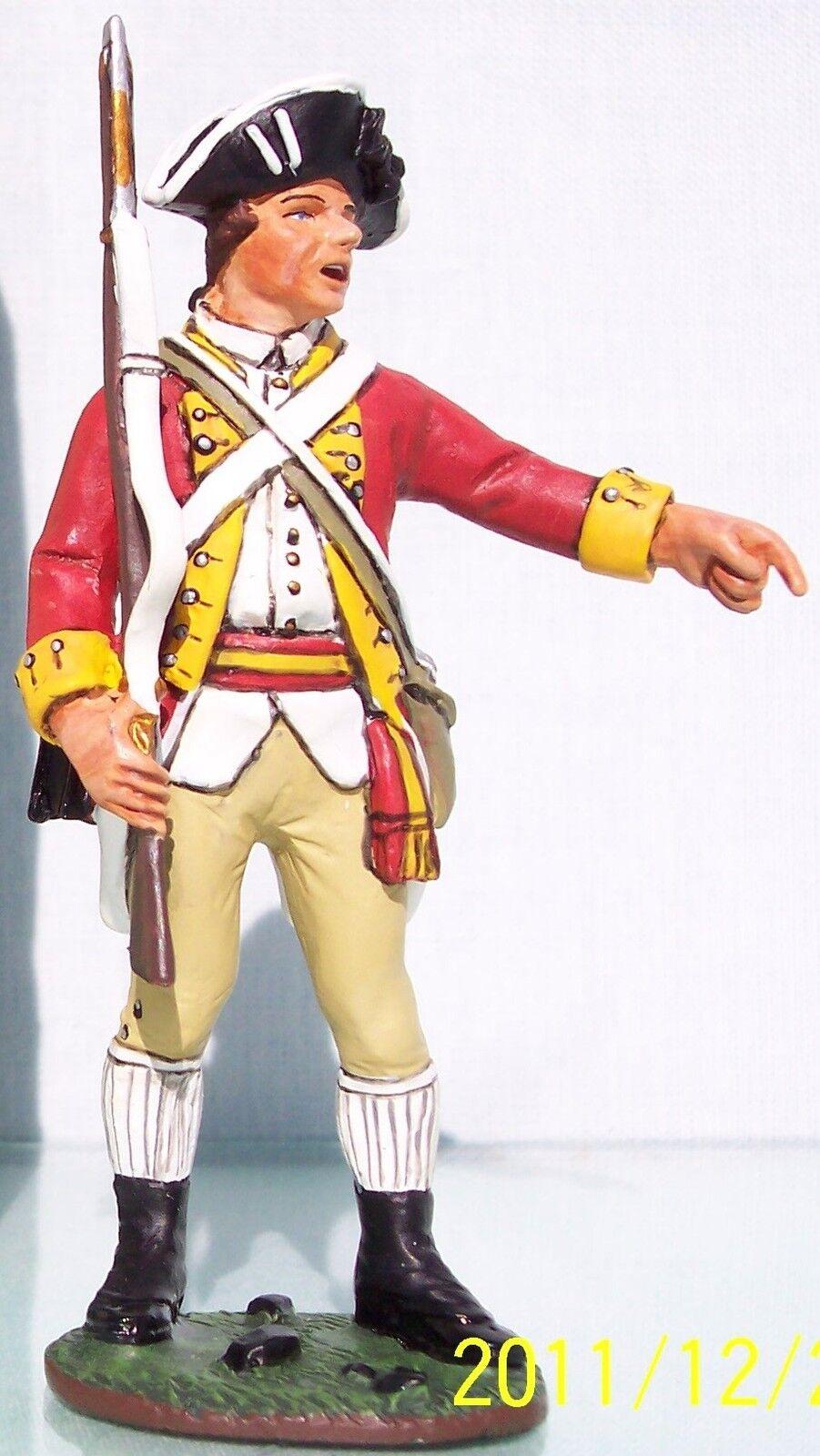 King & Land Britisch Revolutionär BR018 Britisch Sergeant zeigen MIB