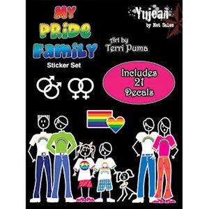 Pride Shack LGBT Gay Lesbian Family Pride Car Sticker Decals - Family car sticker decalsfamily car decals ebay