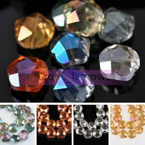 100PCS-Crystal-Glass-Faceted-Loose-Spacer-Beads-lot-4mm-6mm-DIY-Jewelry-3mm-D1I5