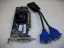 Small Form Factor Dual VGA AMD HD6350 512MB DDR3 Graphics Video Card-PCI-Express