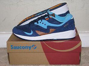 6495b4ad7710 Saucony Grid 8000 CL Blue   Light Blue Mens Size 10 DS NEW! 5000 G9 ...
