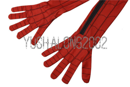 Spider-Man Homecoming Cosplay Kostüm Costume Full Set Outfit Halloween Bodysuit
