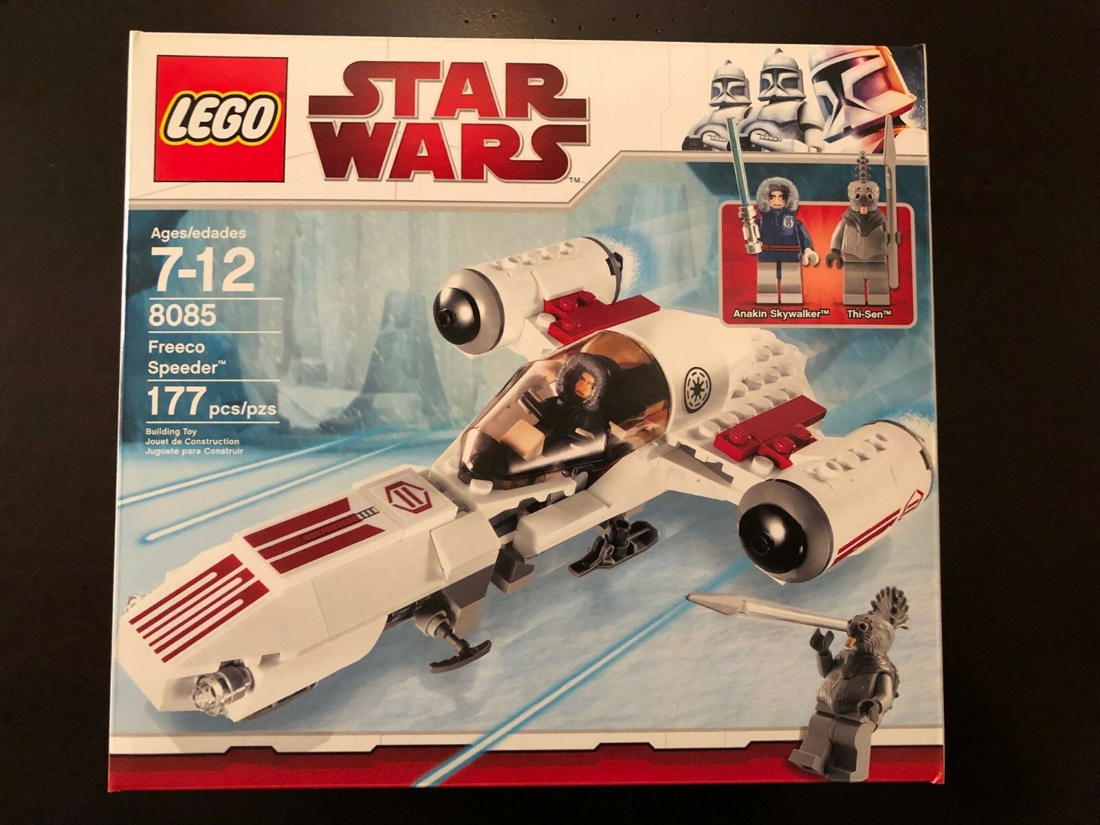 LEGO 8085 Star Wars Freeco Speeder-Damage Speeder-Damage Speeder-Damage Box 1482ed