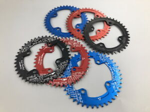 SNAIL Single MTB bike Chainring BMX Narrow Wide Round//Oval BCD104 Chain Rings