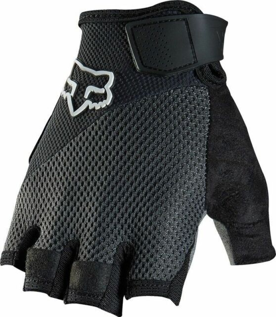 XL Fox Reflex Gel Cycling Gloves 2016 Black XXL Red