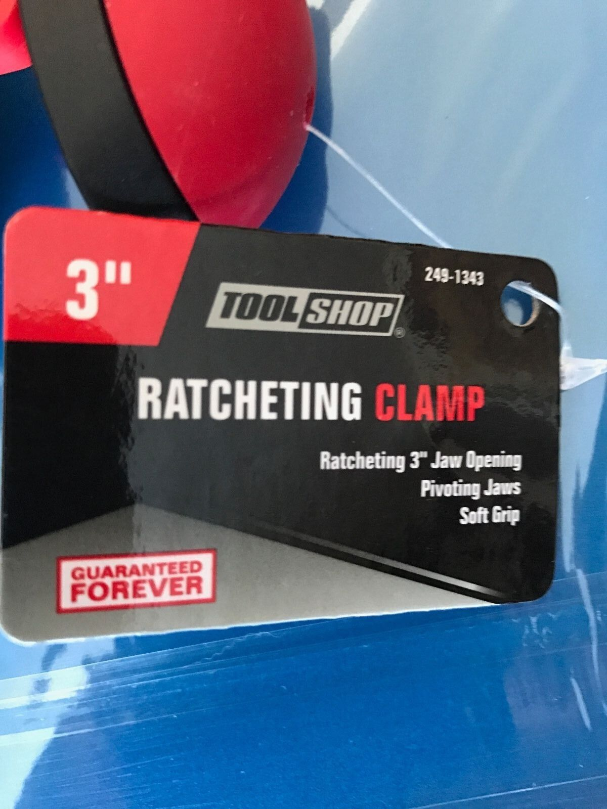 """Brand New 3"""" Ratcheting Clamp 249-1343"""