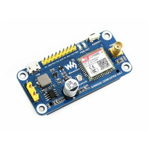 Waveshare GSM GPRS Bluetooth HAT for Raspberry Pi WS16157