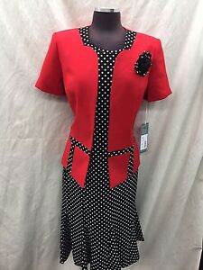 """TALLY TAYLOR DRESS SUIT/SIZE 22W /LINED/DRESS LENGTH 43""""/RETAIL$169/PLUS SIZE"""