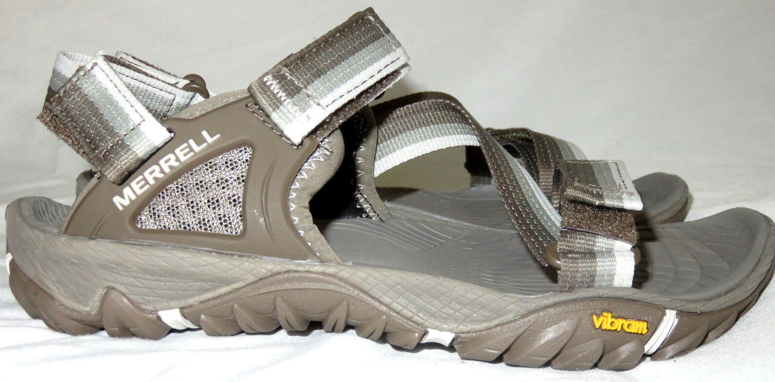 Merrell Aluminum Women's All Out Blaze Web Grey shoes Sandals Size 5 NEW